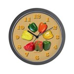 Peppers Wall Clock 3