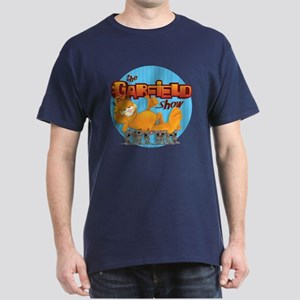 Garfield Show Logo Dark T-Shirt