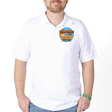 Garfield Show Logo Golf Shirt