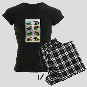 Poison Dart Frogs Women's Dark Pajamas