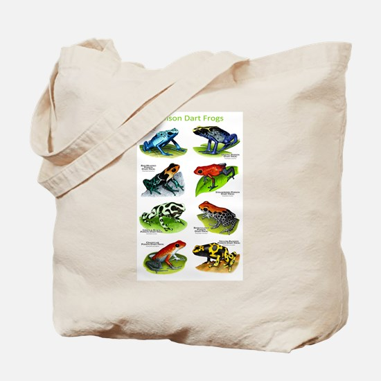 Poison Dart Frogs Tote Bag
