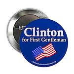 Clinton for First Gentleman button