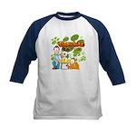 Garfield & Cie Logo Kids Baseball Jersey