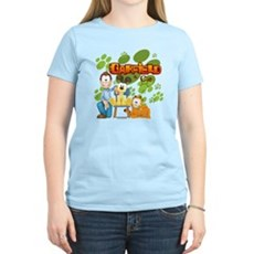Garfield & Cie Logo Women's Light T-Shirt