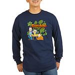 Garfield & Cie Logo Long Sleeve Dark T-Shirt