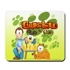 Garfield & Cie Logo Mousepad