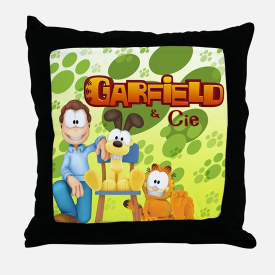 Garfield & Cie Logo Throw Pillow