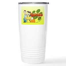 Garfield & Cie Logo Stainless Steel Travel Mug