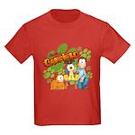 El Show de Garfield Logo Kids Dark T-Shirt