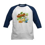 El Show de Garfield Logo Kids Baseball Jersey