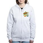 El Show de Garfield Logo Women's Zip Hoodie