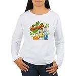 El Show de Garfield Logo Women's Long Sleeve T-Shi