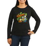 El Show de Garfield Logo Women's Long Sleeve Dark