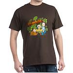 El Show de Garfield Logo Dark T-Shirt