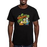 El Show de Garfield Logo Men's Fitted T-Shirt (dar