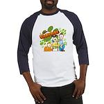 El Show de Garfield Logo Baseball Jersey