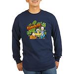 El Show de Garfield Logo Long Sleeve Dark T-Shirt