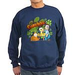 El Show de Garfield Logo Sweatshirt (dark)