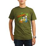 El Show de Garfield Logo Organic Men's T-Shirt (da