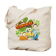 El Show de Garfield Logo Tote Bag
