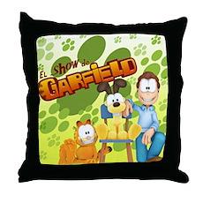 El Show de Garfield Logo Throw Pillow