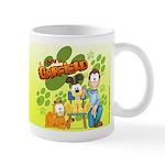 El Show de Garfield Logo Mug
