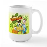 El Show de Garfield Logo Large Mug