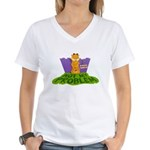 Not My Problem Women's V-Neck T-Shirt
