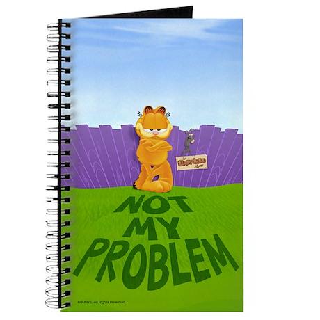 """Garfield """"Not My Problem"""" Journal"""