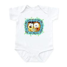 Goofy Faces Infant Bodysuit
