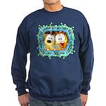 Goofy Faces Sweatshirt (dark)