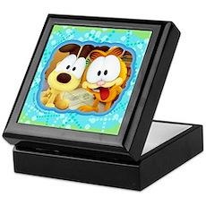 Garfield Goofy Faces Keepsake Box