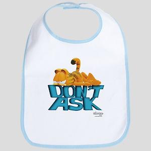 """Garfield """"Don't Ask"""" Bib"""
