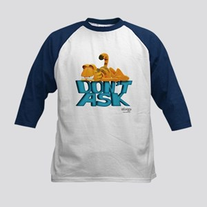 "Garfield ""Don't Ask"" Kids Baseball Jersey"