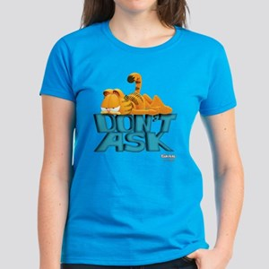 "Garfield ""Don't Ask"" Women's Dark T-Shirt"