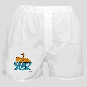 "Garfield ""Don't Ask"" Boxer Shorts"