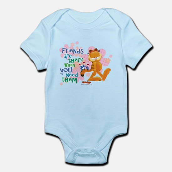 Friends Are There Infant Bodysuit