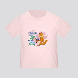 Friends Are There Toddler T-Shirt