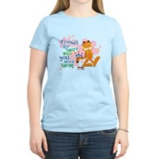 Friends Are There Women's Light T-Shirt