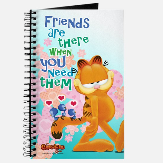 """Friends Are There"" Garfield Journal"