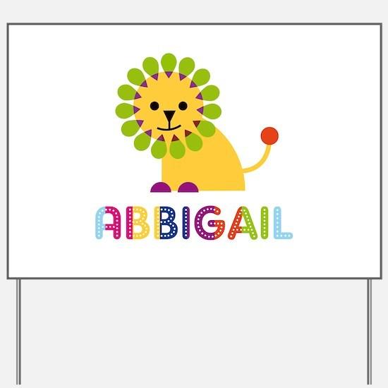 Abbigail the Lion Yard Sign