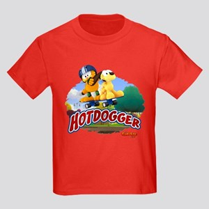 Hotdogger Kids Dark T-Shirt