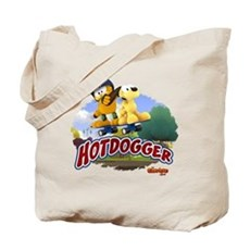 Garfield Hotdogger Tote Bag