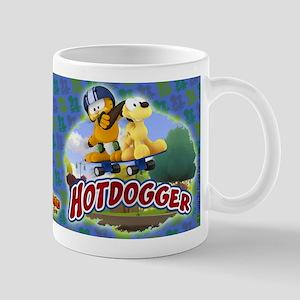 Garfield Hotdogger Mug