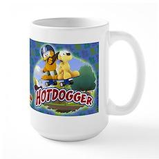 Garfield Hotdogger Large Mug