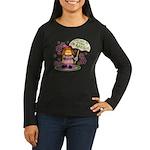I'm Adorable Women's Long Sleeve Dark T-Shirt