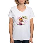 I'm Adorable Women's V-Neck T-Shirt