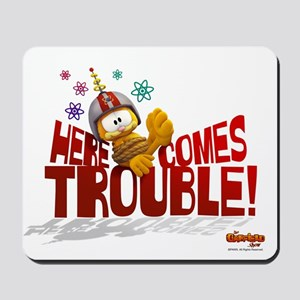 "Garfield ""Here Comes Trouble"" Mousepad"