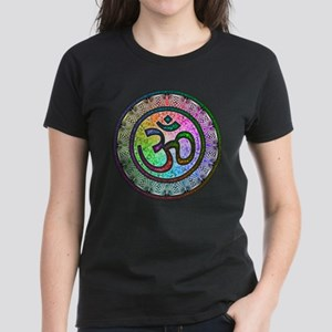 OM Mandala Women's Dark T-Shirt