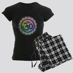 OM Mandala Women's Dark Pajamas